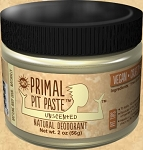 Primal Pit Paste 2oz, Regular, Unscented